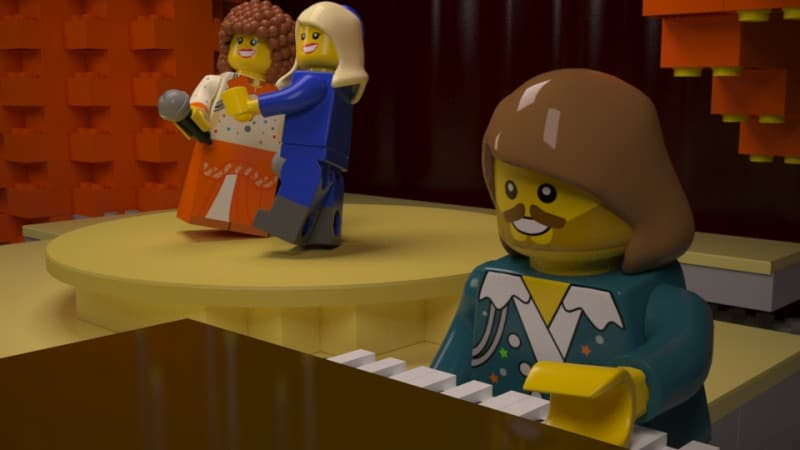 Top 5 best LEGO Eurovision moments!