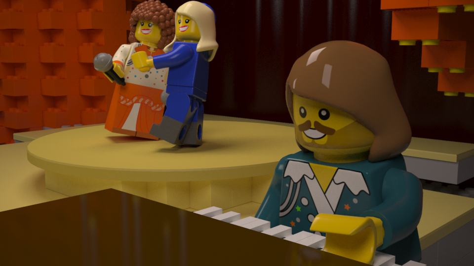 LEGO Eurovision | 3D Animation