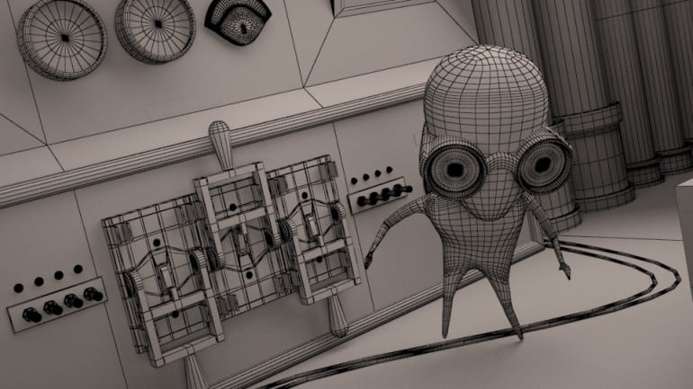 Creating a 3D Model for Animation