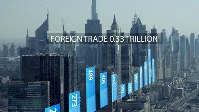 Dubai Financial Infographic Animation