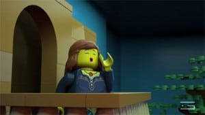 GLUE-VFX-3D-animation-LEGO-Shakespeare-juilet-on-balcony-calling-scene-promotional-video