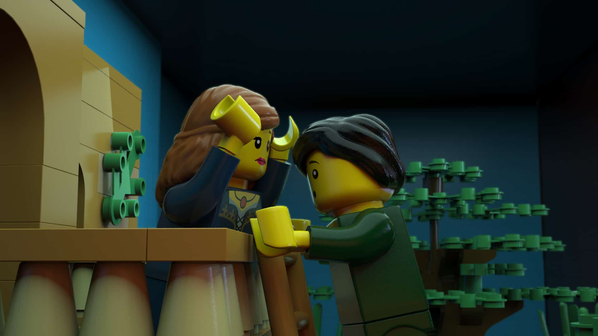 LEGO Shakespeare | 3D Animation