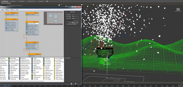 Particle-system