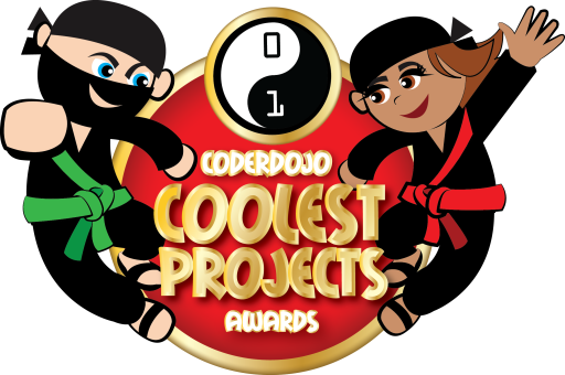 Coder Dojo Awards Logo - GLUE VFX