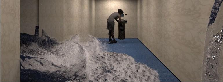 Sea_in_hallway