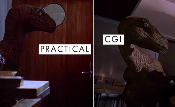 Jurassic Park CCGI